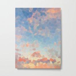 Mosaic Horizon Metal Print