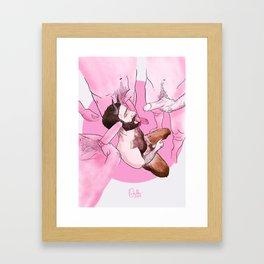 Pan Framed Art Print