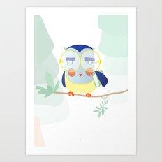 Wise as an OWL Art Print