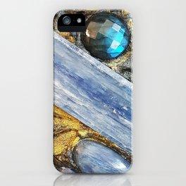 Der Lange Blaue Arm iPhone Case
