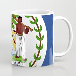 Belize flag emblem Coffee Mug
