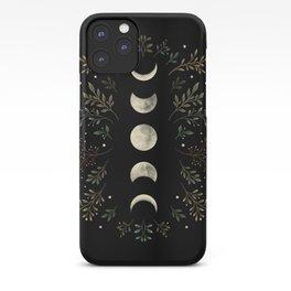 Moonlight Garden - Olive Green iPhone Case