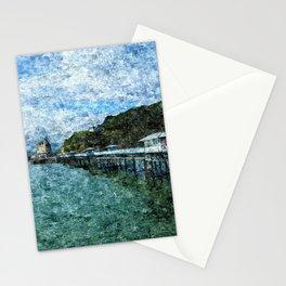 Llandudno Pier in Summer Stationery Cards
