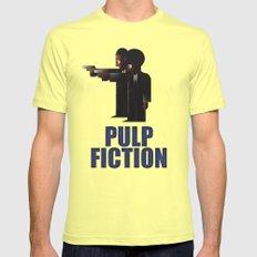 CASSANDRE SPIRIT - Pulp Fiction Lemon Mens Fitted Tee LARGE