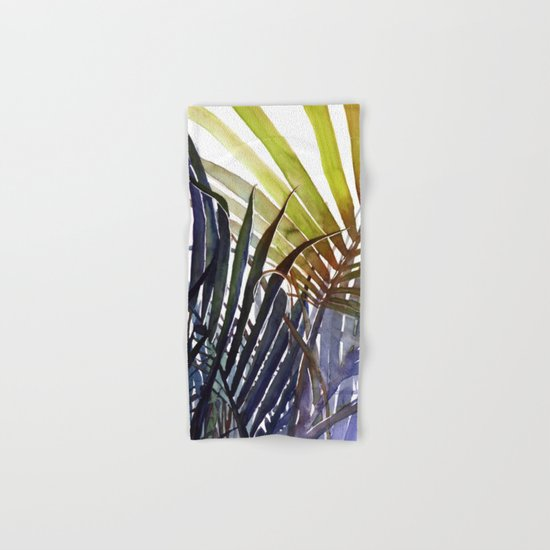 Arecaceae - household jungle #3 Hand & Bath Towel