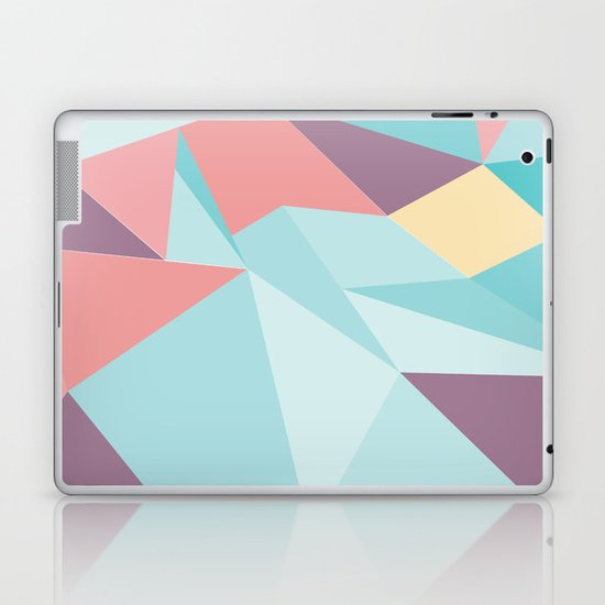 Facet vector II Laptop & iPad Skin