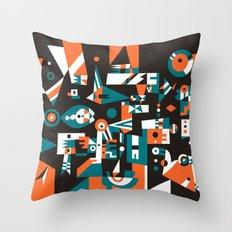 Schema 1 Throw Pillow