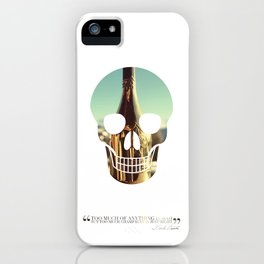 """""""Too much of anything is bad, but too much Champagne is just right"""" iPhone Case"""