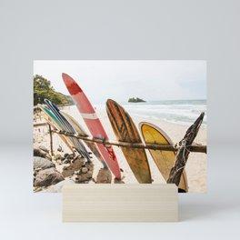 Surfing Day 2 Mini Art Print