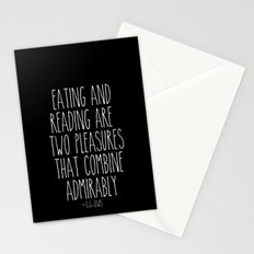 An Admirable Combo Stationery Cards