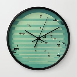 Fractions 02 Wall Clock