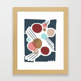 June Midnight Framed Art Print