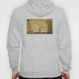 Gustav Klimt The Tree Of Life Hoody