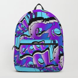 Cool Graffiti Typography Lettering Art / GFTTypography006  Backpack