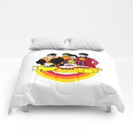 Yellow Submarine - Pop Art Comforters