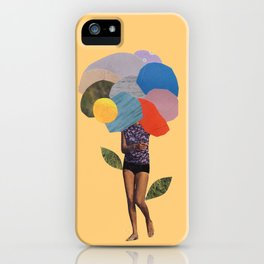 i dream of you amid the flowers iPhone Case