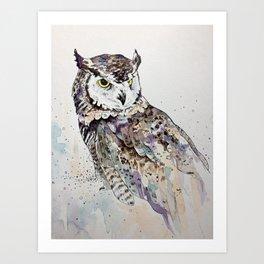 Vancouver Owl Art Print