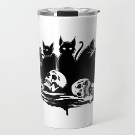 The cats of Ulthar Travel Mug