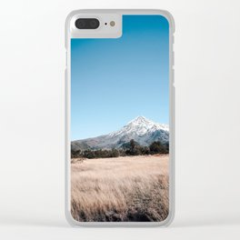 vulcano lanin Clear iPhone Case