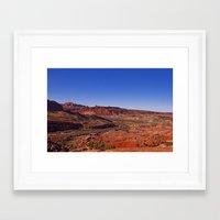 utah Framed Art Prints featuring Utah by Candy Buckingham