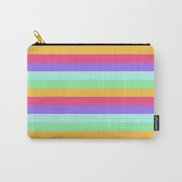Unicorn Stripes Carry-All Pouch