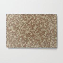Desert camouflage pattern Metal Print