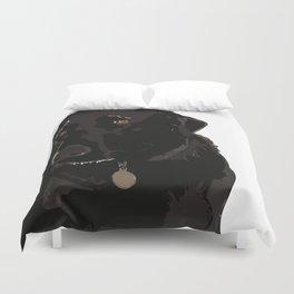 Chocolate Lab Duvet Cover