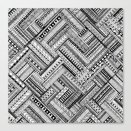 Urban Texture Canvas Print