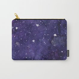 Watercolor galaxy - purple Carry-All Pouch