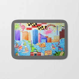 Baltimore, Maryland Bath Mat