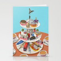 british Stationery Cards featuring a very British past time by John Holcroft