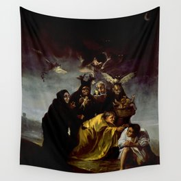 THE WITCHES SPELL - FRANCISCO GOYA Wall Tapestry