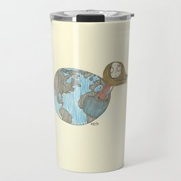 One Delusionary Loon Lands in the Pocket of the Earth Travel Mug