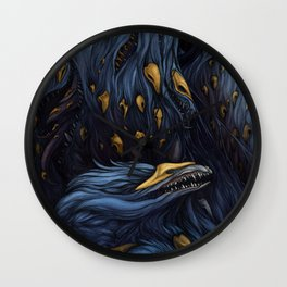 The Birth of Demons Wall Clock