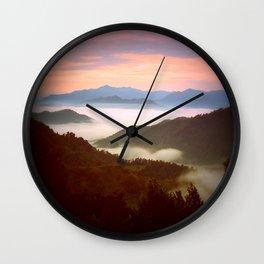 Clyde NC Wall Clock