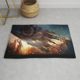 Gears Of War 12 Rug
