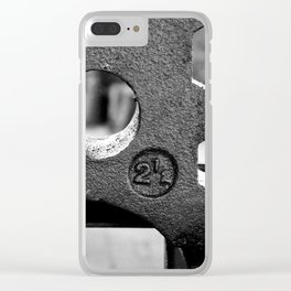 Iron Clear iPhone Case