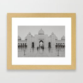 Entering the Mosque Framed Art Print