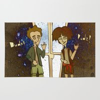 1989 Area & Throw Rugs featuring Bill & Ted's Excellent Adventure (1989) by niles yosira