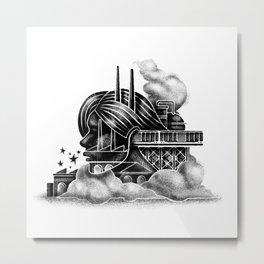 Contemplation Metal Print