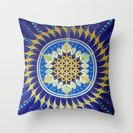 The Seed of Life Throw Pillow