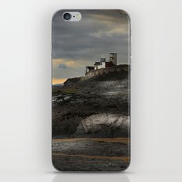 Steampunk / Burtonesque Coastal Fort iPhone Skin