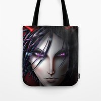 kuroshitsuji Tote Bags featuring Devil's Day 2014 by Falln