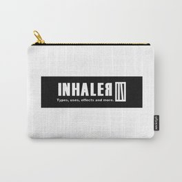 Inhaler; Part 1: white chapter. Carry-All Pouch