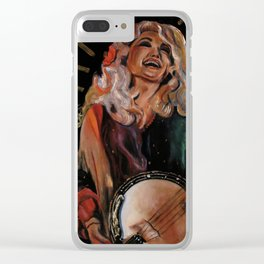 The Ecstasy of Dolly Parton Clear iPhone Case