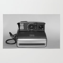 Polariod One Camera Rug