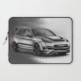 Porsch Cayenne Sakura Artrace body-kit. Laptop Sleeve