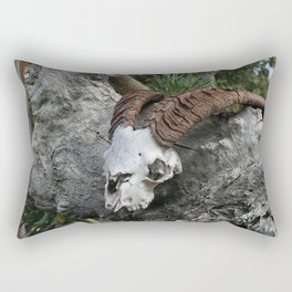 Old Bones Rectangular Pillow