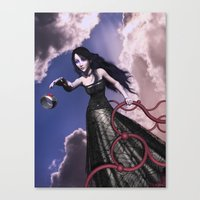 lord of the ring Canvas Prints featuring Ring by Britta Glodde