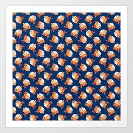 Blue Bondage Art Print
